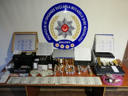 Sahte para basan çeteye operasyon: 5 gözaltı
