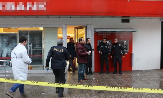 Şanlıurfa'da banka soygunu
