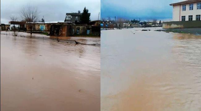 Şanlıurfa'da dere taştı: 3 ev tahliye edildi