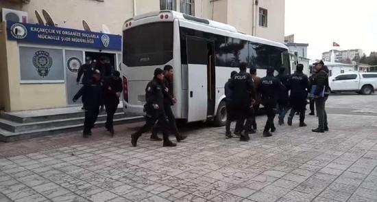 Şanlıurfa'da 'joker' planlayıcılarına operasyon: 20 gözaltı