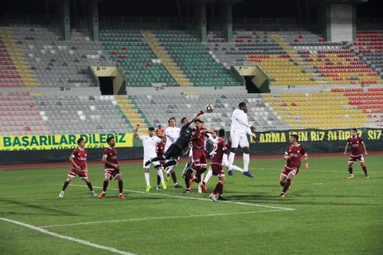 Şanlıurfa'da oynanan karşılaşmayı Adanaspor kazandı