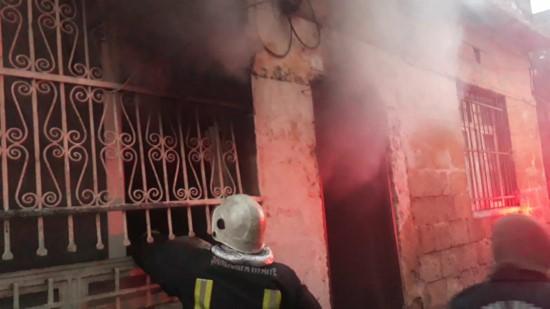 Şanlıurfa'da sigara izmariti yüzünden ev yandı