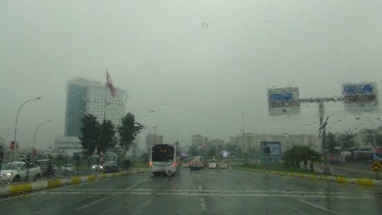 Şanlıurfa'da yağmur ve sis etkili oluyor