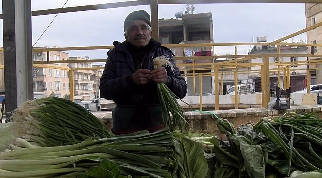 Şanlıurfa'da Zam şampiyonu Yeşil soğan