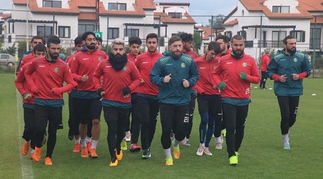 Şanlıurfa sporun Antalya kampında çalışmaları devam ediyor