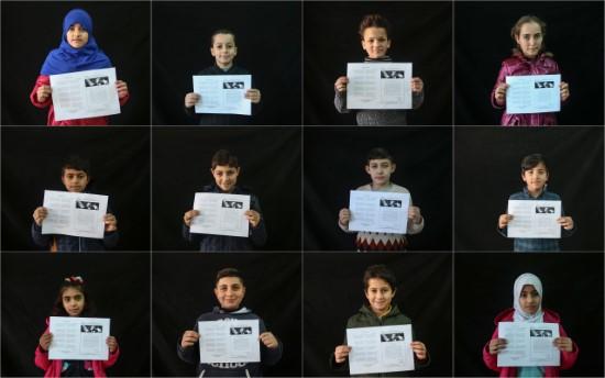 Suriyeli Kürt öğrencilerin