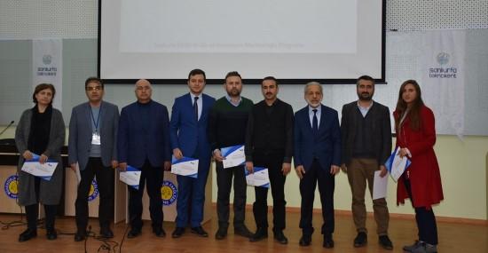 Teknokent Mentorluk Eğitimleri sertifika töreni yapıldı