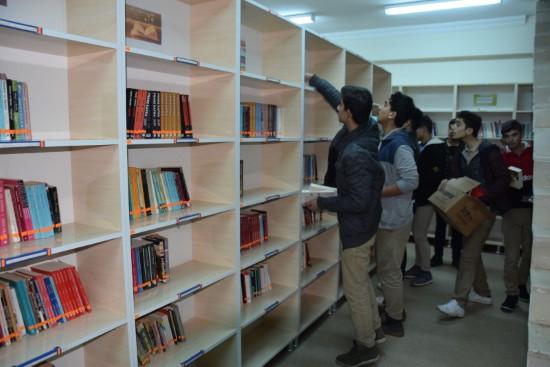 Tirebolu'dan Viranşehir'e 3 bin kitap desteği