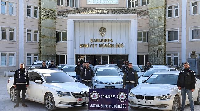 Urfa Polisinden Türkiye'nin en büyük operasyonu