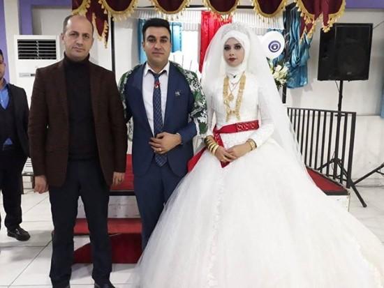 Yavuz, Gazi Kaya'nın düğün törenine katıldı