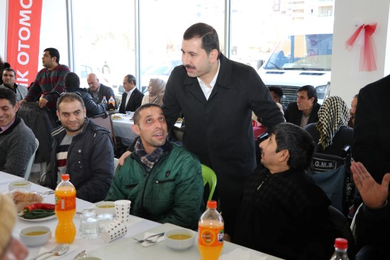 Baydilli'den engelli vatandaşlara müjde