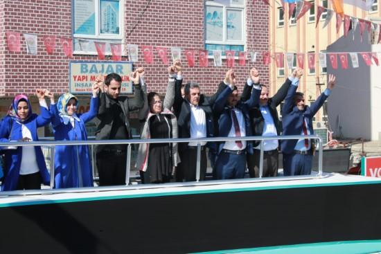 Beyazgül: Viranşehir'i Ak belediyecilikle buluşturacağız