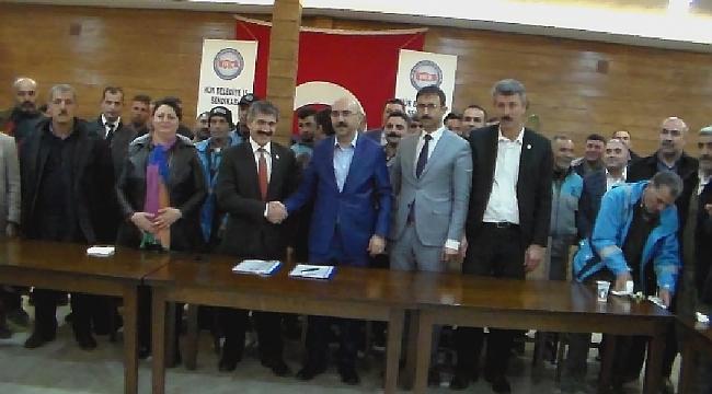 Bozova Belediye işçilerine yüzde 60 zam