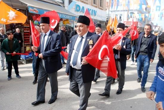 Ceylanpınar'daki Gaziler de 'AK Parti' dedi