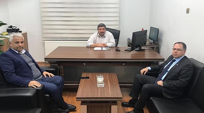 Güler'e Prof.Dr. Altay'dan ziyaret