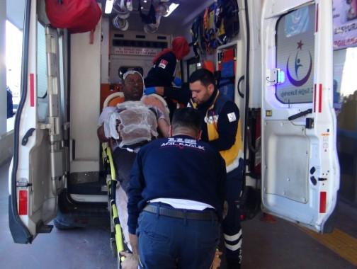 Patlayan trafodaki işçi ağır yaralandı