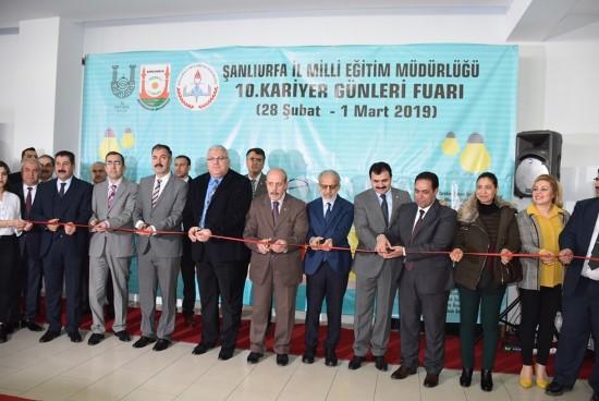 Şanlıurfa'da '10. Üniversite Tanıtım Günleri' başladı