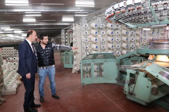 Şanlıurfa'yı tekstil merkezi yapmak zorundayız