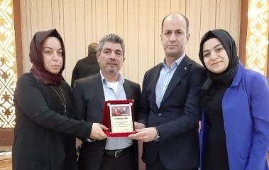 Şehit Çubukçu'nun ailesinden Yavuz'a plaket