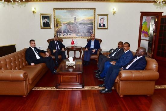 Sudan Büyükelçisi Şanlıurfa'da