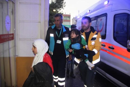 Suriyeli anne ve 5 çocuğu zehirlendi