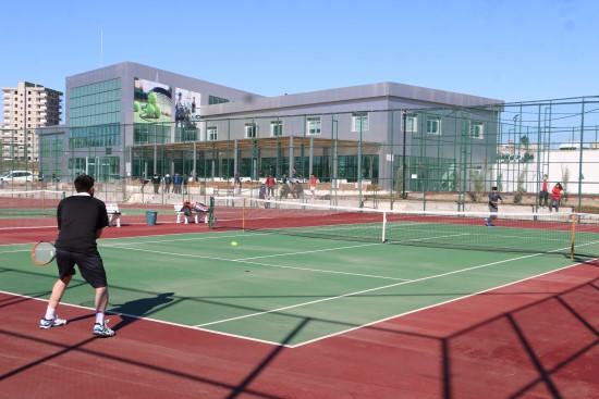 Tenis turnuvası Şanlıurfa'da düzenleniyor