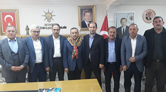 Türkmenlerden Mehmet Moğal'a ziyaret