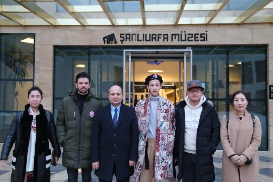 Xiao Zhang, Şanlıurfa'daki müzeleri ziyaret etti