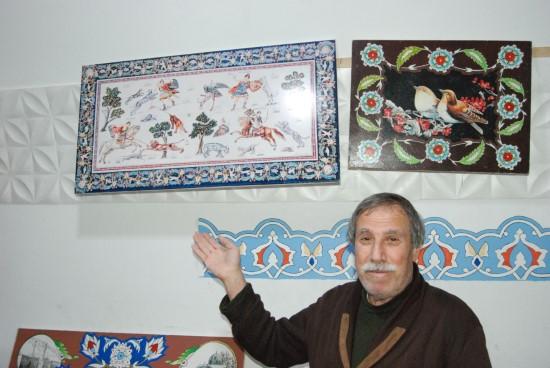 60 yıllık ressam fırça darbeleriyle Şanlıurfa tarihini yaşatıyor