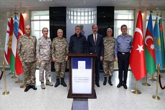 Bakan Akar ve Kuvvet Komutanları Şanlıurfa'yı ziyaret etti