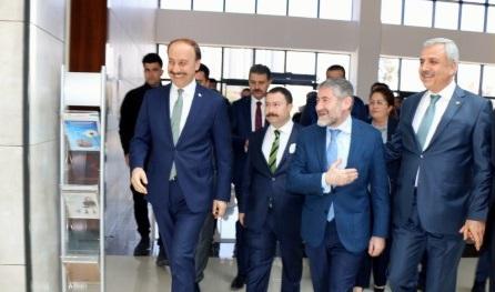 Bakan Yardımcısı Nebati Şanlıurfa OSB'yi ziyaret etti