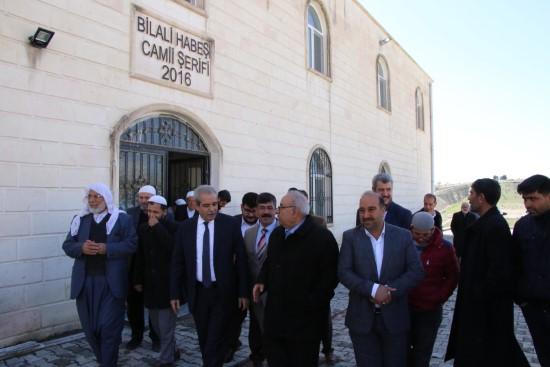 Demirkol, Bilal-İ Habeşi caminin açılışına katıldı
