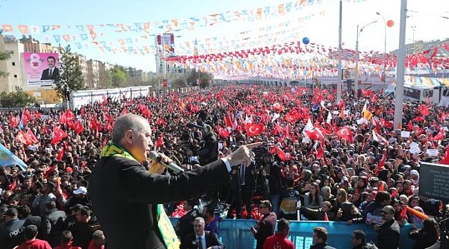Erdoğan; bu vatanı bölmeye kimsenin gücü yetmez