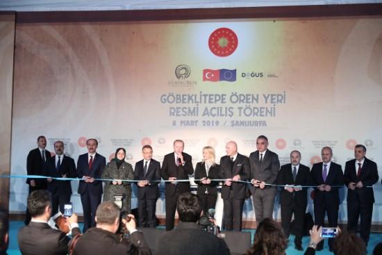 Erdoğan, Göbeklitepe Ören Yeri'nin açılışını yaptı