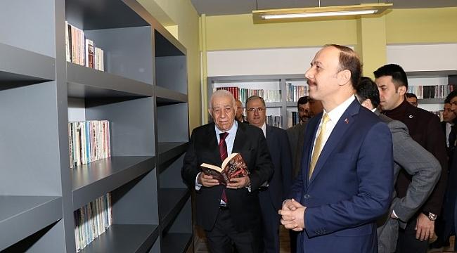 Eski Milletvekili Mehmet Güneş'ten eğitime katkı (video)