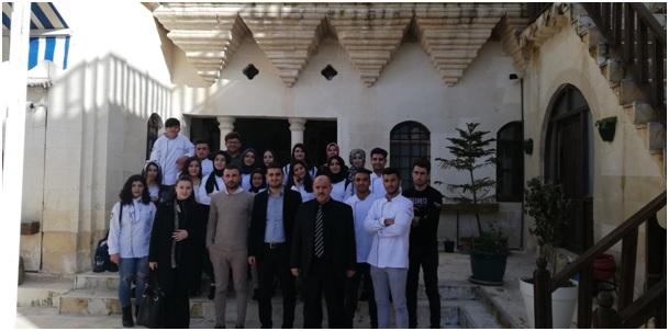 Halfeti'deki Hizmet sektörünü öğrenciler keşfediyor