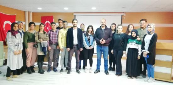 Halfeti MYO'da 'beden dili ve etkili iletişim' semineri