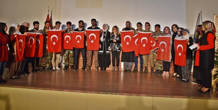 """Harran Üniversitesinde """"Çanakkale Geçilmez"""" etkinliği"""