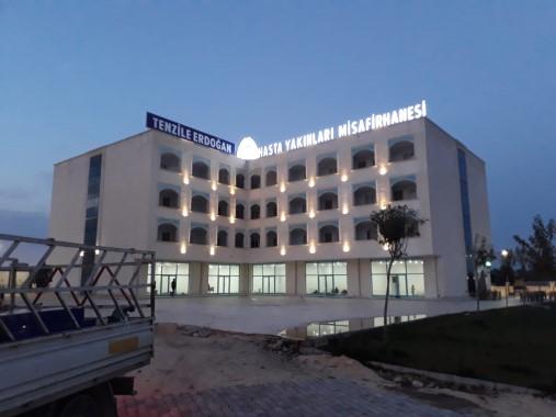 Hasta yakınları misafirhanesine Tenzile Erdogan ismi verildi