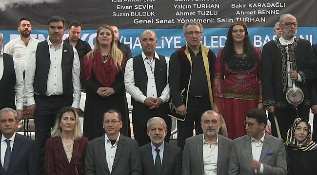 Müziğin İzinde 4 Kardeş Şehirin Türküleri Seslendirildi