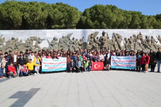 Öğrencilere Çanakkale ruhu yaşatıldı