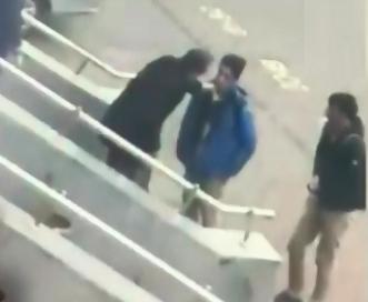 Öğrencilere şiddet uygulayan müdüre inceleme (vİDEO)