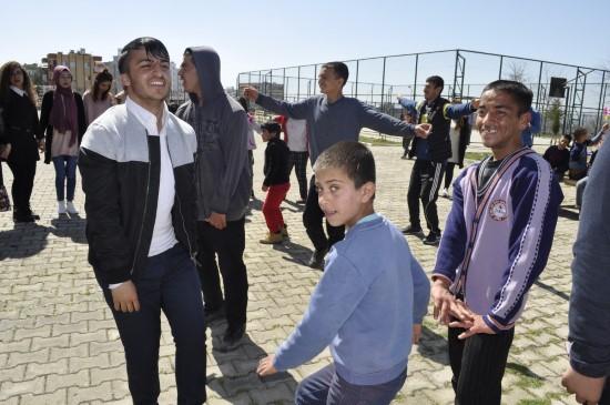 Siverek'te Down Sendromu Farkındalık Günü halaylarla Kutlandı