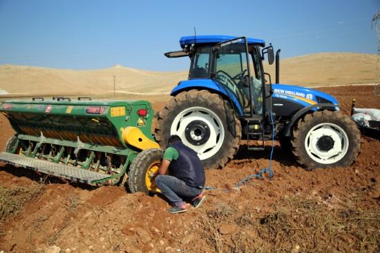 Yağışlar, sulu tarım alanlarında hububat ekimini olumsuz etkiledi