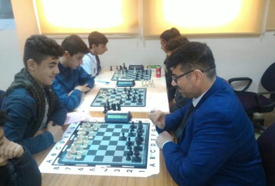 Yeşilay Şanlıurfa'dan satranç turnuvası