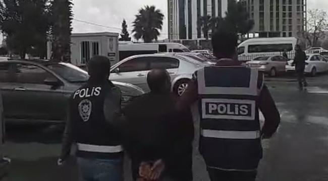 21 hapis cezası bulunan S.K mağarada yakalandı