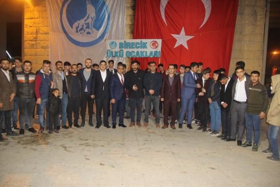 Alparslan Türkeş, vefatının 22. yılında Birecik'te anıldı