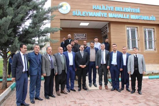 Canpolat, Süleymaniye mahallesinde incelemelerde bulundu