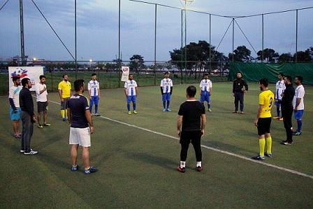 Dicle Elektrik futbol turnuvası yeniden başladı