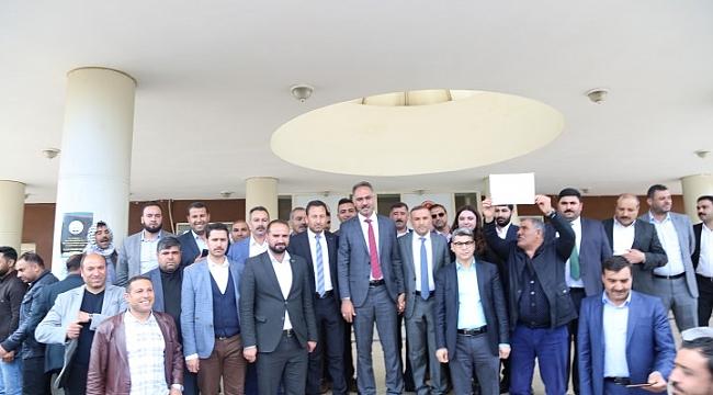 Eyyübiye Belediye Başkanı Kuş mazbatasını aldı